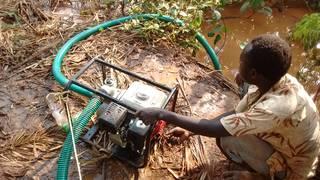 Water pump is debugged