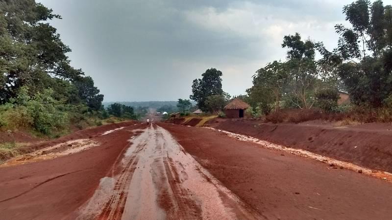Travel to prospecting location in Uganda