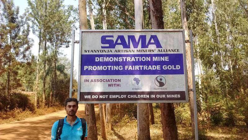 Visit to SAMA Syanyonja Artisan Miners' Association in Busia, Uganda