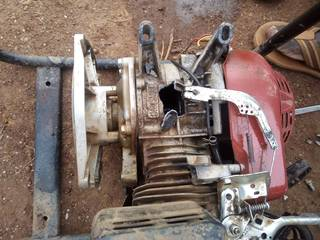 Broken water pump