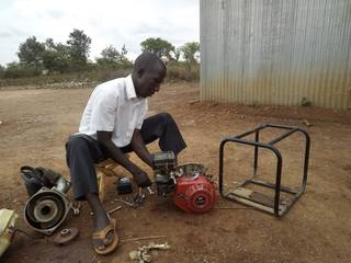 Reparation of Chinese water pump