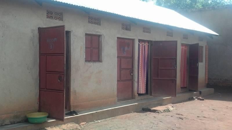 Lodge in Ndaiga, Uganda