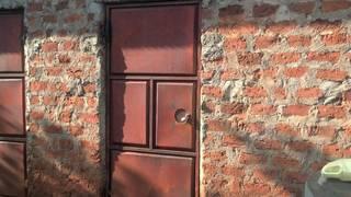 Classic storage room in Uganda