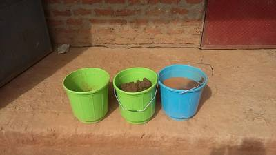 Preparation of sampling buckets