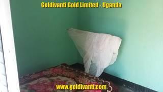 Room in the lodge in Northern Uganda