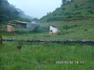 2020-05-02: Demarcation of the mining site and latrine in background