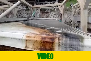Video of shaker tables for chromite mineral processing Cr2O3